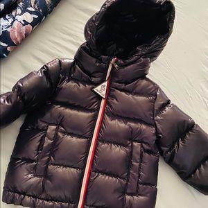 Moncler baby coat